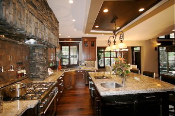 Kelowna Residential Kitchen Interior